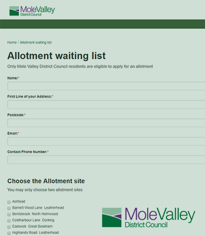 allotment-waiting-list